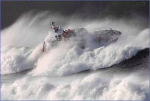 Canadian Coast Guard Rescue Boat